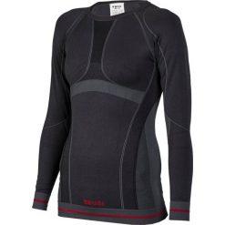 Brugi Koszulka młodzieżowa Seamless czarna r. 44 (1RAE). Czarna t-shirty chłopięce marki La Redoute Collections, z bawełny, klasyczne. Za 57,33 zł.