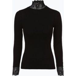Aygill's - Damska koszulka z długim rękawem, czarny. Czarne t-shirty damskie Aygill's Denim, s, w koronkowe wzory, z denimu. Za 99,95 zł.