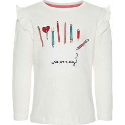 """Bluzki dziewczęce: Koszulka """"Naja"""" w kolorze białym"""