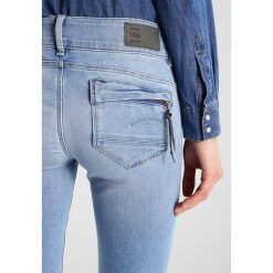 GStar MIDGE CODY MID SKINNY  Jeansy Slim fit brantley denim. Szare jeansy damskie marki G-Star. W wyprzedaży za 511,20 zł.