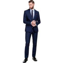 Garnitur MARCUS GXGE600009. Niebieskie garnitury Giacomo Conti, z wełny. Za 1498,00 zł.