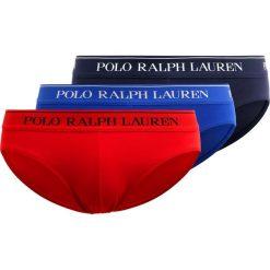 Polo Ralph Lauren 3 PACK Figi dark blue/blue/dark red. Niebieskie bokserki męskie Polo Ralph Lauren, z bawełny. Za 189,00 zł.