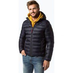 Napapijri - Męska kurtka pikowana – Noyi4x, niebieski. Szare kurtki męskie pikowane marki Napapijri, l, z materiału, z kapturem. Za 899,95 zł.
