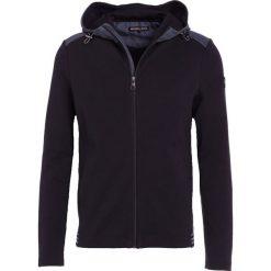 Michael Kors ZIP HOODY Bluza rozpinana black. Czarne kardigany męskie Michael Kors, m, z bawełny. W wyprzedaży za 524,30 zł.