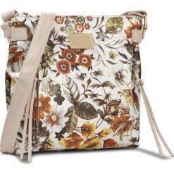 Torebka MONNARI - BAG1601 White With Orange With Beige. Brązowe listonoszki damskie Monnari, ze skóry ekologicznej. W wyprzedaży za 119,00 zł.