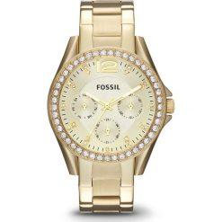 Zegarki damskie: Zegarek FOSSIL – Riley ES3203  Gold/Gold