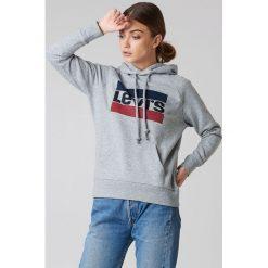 Odzież damska: Levi's Bluza z kapturem Graphic Sportswear - Grey