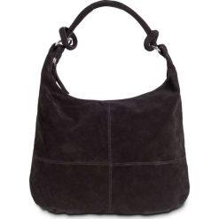 Shopper bag damskie: Torebka shopper skórzana bonprix czarny