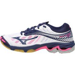 Buty sportowe damskie: Mizuno WAVE LIGHTNING Z4 Obuwie do siatkówki white/blue depths/pink glow