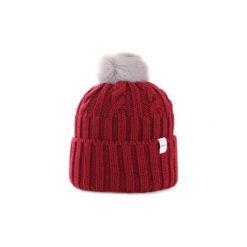 Czapki Penn-rich By Woolrich  WYACC0196EY10. Czerwone czapki zimowe damskie Penn-rich By Woolrich. Za 281,45 zł.