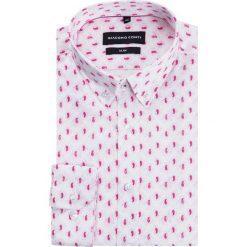 Koszula SIMONE KDWS000184. Czarne koszule męskie na spinki marki TOM TAILOR DENIM, l, z bawełny, button down, z długim rękawem. Za 199,00 zł.