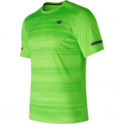 Koszulka treningowa MT71047EGL. Czerwone koszulki sportowe męskie marki New Balance, na jesień, m, z materiału. Za 99,99 zł.