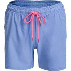 Spodenki damskie SKDT602 - jasny niebieski - Outhorn. Niebieskie szorty damskie Outhorn, z materiału. W wyprzedaży za 39,99 zł.