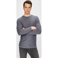 Selected - Sweter. Niebieskie swetry klasyczne męskie marki Reserved, l, z okrągłym kołnierzem. W wyprzedaży za 119,90 zł.