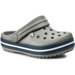 Klapki CROCS - Crocband Kids 10998 Smoke/Navy. Szare klapki chłopięce marki Crocs, z tworzywa sztucznego. Za 139,00 zł.