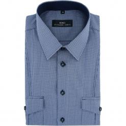 Koszula ALESSIO D 15-06-20-K. Niebieskie koszule męskie jeansowe marki Giacomo Conti, m, button down, z długim rękawem. Za 149,00 zł.