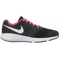 Nike Buty Do Biegania Girls'star Runner (Gs) Running Shoe Black/Pink 38.5. Czarne buciki niemowlęce chłopięce Nike, z gumy. W wyprzedaży za 179,00 zł.