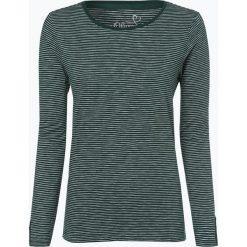 S.Oliver Casual - Damska koszulka z długim rękawem, zielony. Zielone t-shirty damskie s.Oliver Casual, s, z klasycznym kołnierzykiem. Za 79,95 zł.