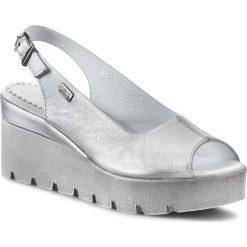 Rzymianki damskie: Sandały SIMEN – 6812  K. Srebro