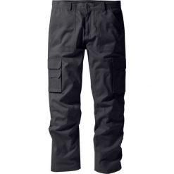 """Spodnie """"bojówki"""" z powłoką z teflonu Regular Fit Straight bonprix antracytowy. Szare bojówki męskie bonprix. Za 79,99 zł."""