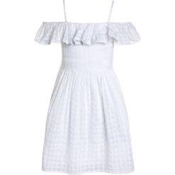 Odzież dziecięca: Polo Ralph Lauren FLUTTER DRESSES Sukienka letnia white