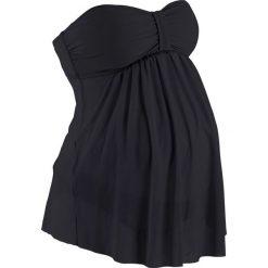 Tankini ciążowe (2 części) bonprix czarny. Czarne bikini bonprix. Za 74,99 zł.
