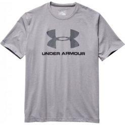 Under Armour Koszulka męska Sportstyle Logo T-Shirt szara r. XL (1257615-025). Szare koszulki sportowe męskie marki Under Armour, z elastanu, sportowe. Za 82,18 zł.