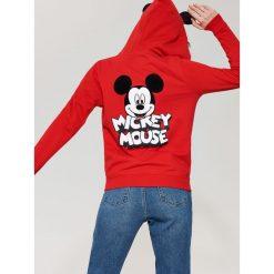 Bluza Mickey Mouse z uszami - Czerwony. Niebieskie bluzy damskie marki House, m. Za 99,99 zł.