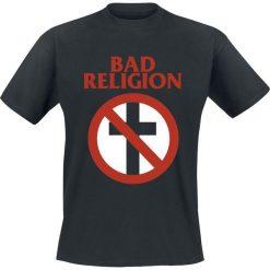 Bad Religion Cross Buster T-Shirt czarny. Czarne t-shirty męskie Bad Religion, l, z napisami, z klasycznym kołnierzykiem. Za 74,90 zł.