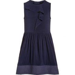 Sukienki dziewczęce z falbanami: IKKS Sukienka koktajlowa indigo
