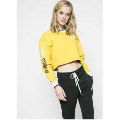 Nike Sportswear - Bluza dwustronna. Białe bluzy z nadrukiem damskie marki Nike Sportswear, l, z bawełny, bez kaptura. W wyprzedaży za 219,90 zł.