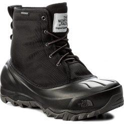 Śniegowce THE NORTH FACE - Tsumoru Boot T93MKTWE3 Tnf Black/Dark Gull Grey. Czarne buty zimowe damskie The North Face, z gumy. W wyprzedaży za 329,00 zł.