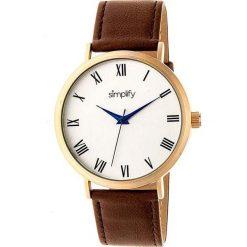 """Zegarki męskie: Zegarek kwarcowy """"the 2900"""" w kolorze brązowo-złoto-białym"""