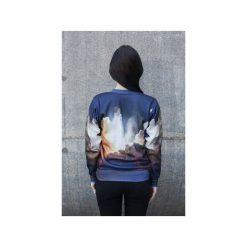 Bluza Space Phone. Szare bluzy męskie rozpinane Bahabay, l, z nadrukiem, z bawełny. Za 125,30 zł.