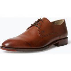 Buty wizytowe męskie: Gordon & Bros. - Męskie buty sznurowane ze skóry – Mirco, brązowy