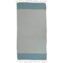 Kąpielówki męskie: Ręcznik w kolorze turkusowym