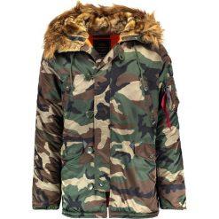 Płaszcze przejściowe męskie: Alpha Industries Płaszcz zimowy green