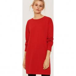 Sukienka basic - Czerwony. Czerwone sukienki House, m. Za 69,99 zł.