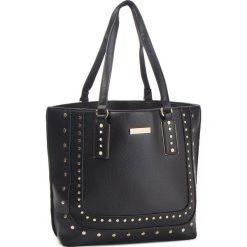 Torebka MONNARI - BAG4870-020 Black. Czarne torebki klasyczne damskie marki Monnari, ze skóry ekologicznej. W wyprzedaży za 199,00 zł.