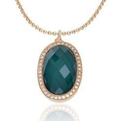 Wisiorki damskie: Złoty Wisiorek – złoto różowe 750, Brylant 0,56ct…