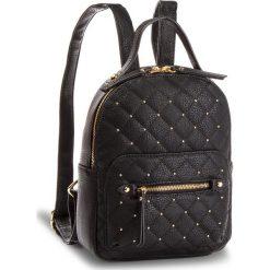 Plecak JENNY FAIRY - RC15266 Black. Czarne plecaki damskie Jenny Fairy, ze skóry ekologicznej, klasyczne. Za 99,99 zł.