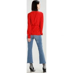 Bluzki asymetryczne: JUST FEMALE ELLEN BLOUSE Bluzka red