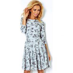 Sukienki: Michaela Rozkloszowana sukienka z rękawkiem