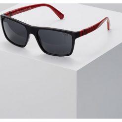 Polo Ralph Lauren Okulary przeciwsłoneczne black. Czarne okulary przeciwsłoneczne męskie aviatory Polo Ralph Lauren. Za 529,00 zł.