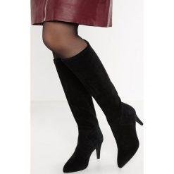 KIOMI Kozaki black. Czarne buty zimowe damskie KIOMI, z materiału. Za 419,00 zł.