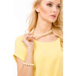 Naszyjniki damskie: Naszyjnik z perłowymi koralami
