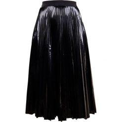 Spódniczki plisowane damskie: Smarteez Spódnica plisowana black