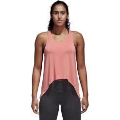 Bluzki damskie: Adidas Koszulka damska Knot Tank różowa r. XS (CF3817)