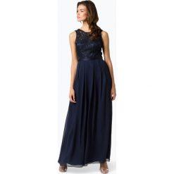 Laona - Damska sukienka wieczorowa, niebieski. Niebieskie sukienki hiszpanki Laona, l, w koronkowe wzory, z koronki, wizytowe. Za 679,95 zł.