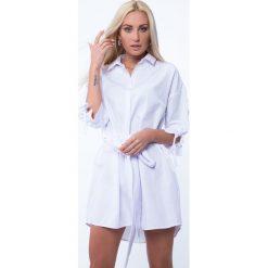 Sukienki hiszpanki: Sukienka koszulowa biała MP26043